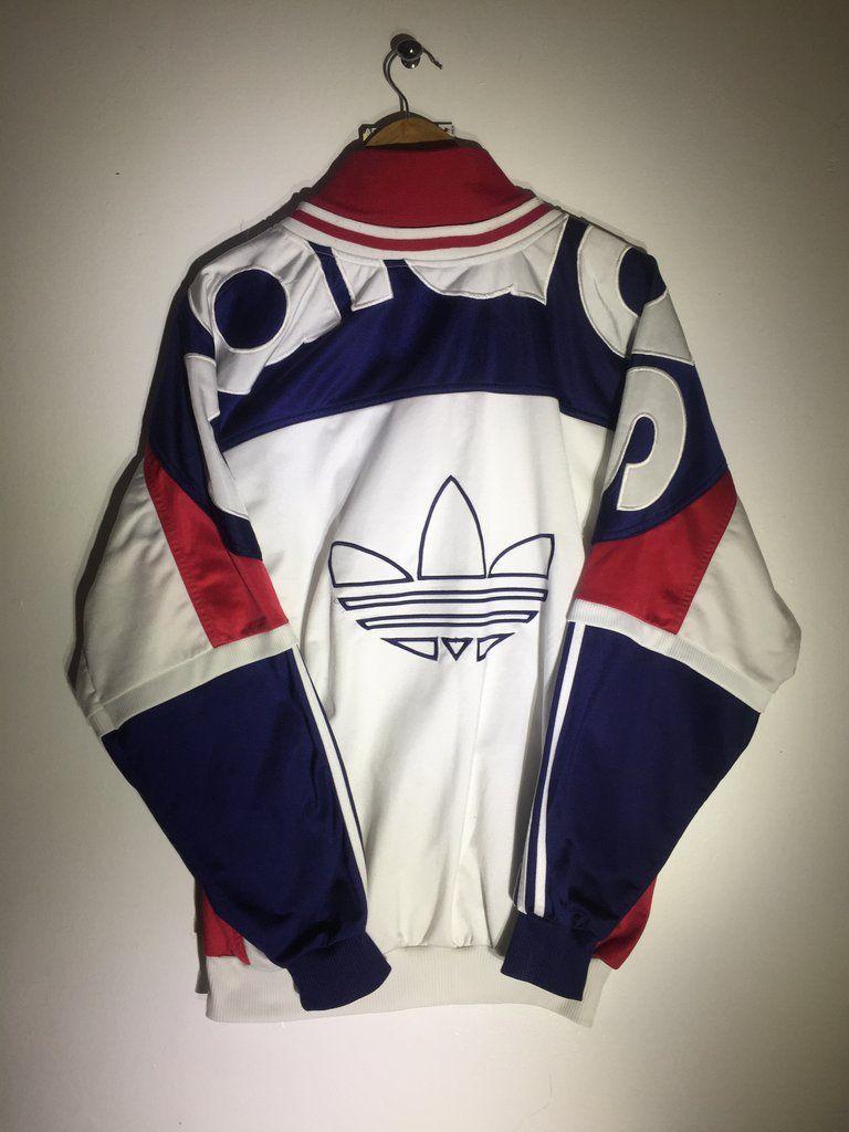 Adidas Track Jacket Large Fits Oversized   Fashion, Adidas