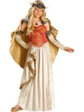 Girls Viking Princess Costume Elite -Girls Costumes -Sale Costumes -Halloween Costumes - Party City