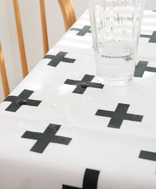 Laminated Modern Style Cross Pattern Cotton Fabric By Yard Products