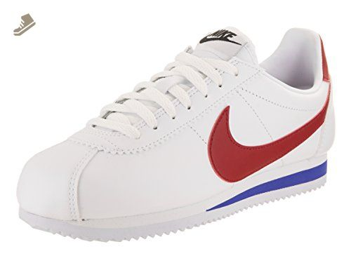 47313e99aac2 ... low cost nike womens classic cortez leather white varsity red casual  shoe 8 women us nike