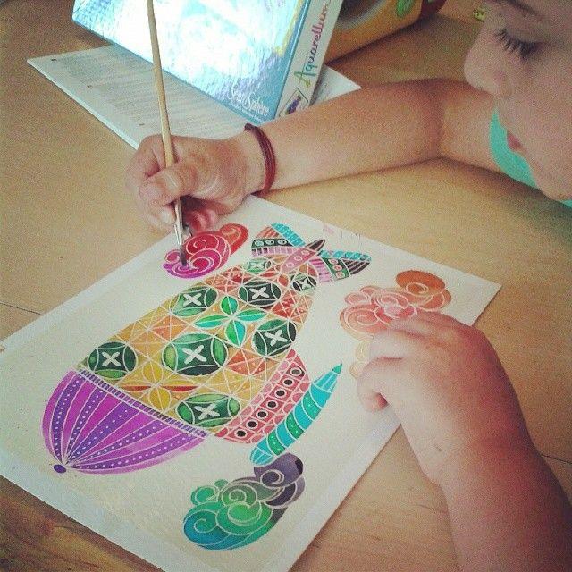 Aquarellum Sentosphere Peinture Couleurs Enfants Jouets