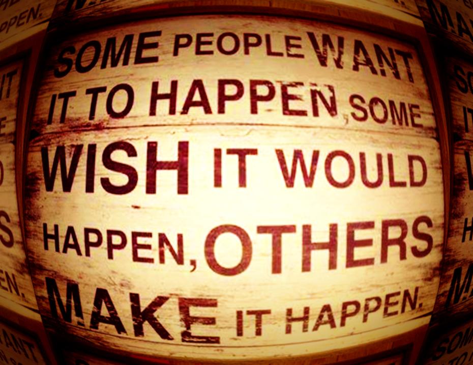 Make It Happen TODAY!