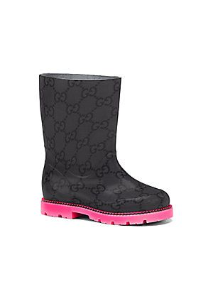 Gucci rain boots | Expensive Baby Shoes! | Pinterest | Rain boot ...