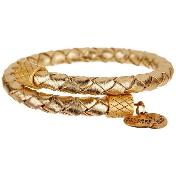 Alex and Ani Glow Metallic Leather Wrap Bracelet ($19) ❤ liked on Polyvore featuring jewelry, bracelets, gold, wrap bracelet, expandable bangle, alex and ani jewelry, charm bangle and leather wrap bracelet