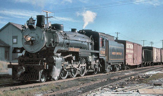 Cpr No 1246 Canadian Pacific Railway Steam Locomotive