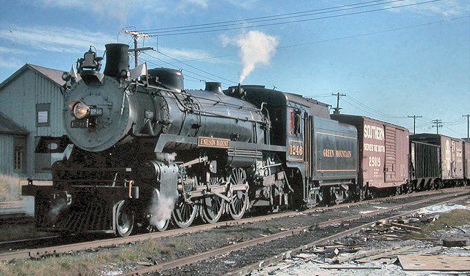 Cpr No 1246 Canadian Pacific Railway Steam Locomotive