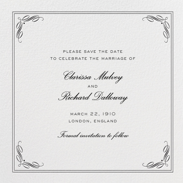 Regency Wedding Invitations: Regency Square By Paperless Post. Customize The Perfect