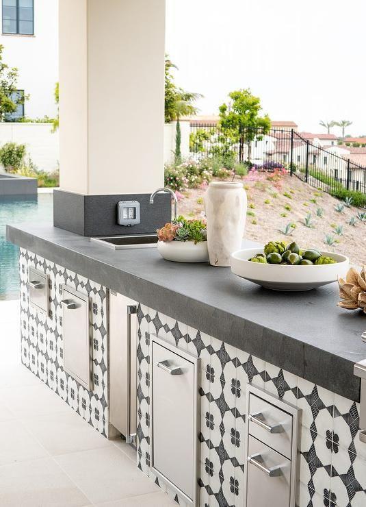 11 outdoor kitchen tile ideas outdoor