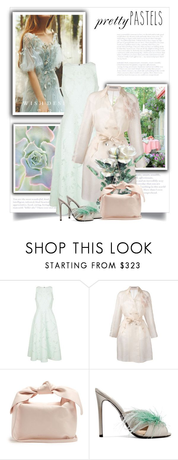 """""""Без названия #7923"""" by bliznec ❤ liked on Polyvore featuring Ted Baker, Ermanno Scervino, Simone Rocha and Prada"""