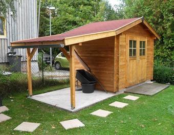 Schleppdach für Gartenhütte Schleppdach, Gartenhütte