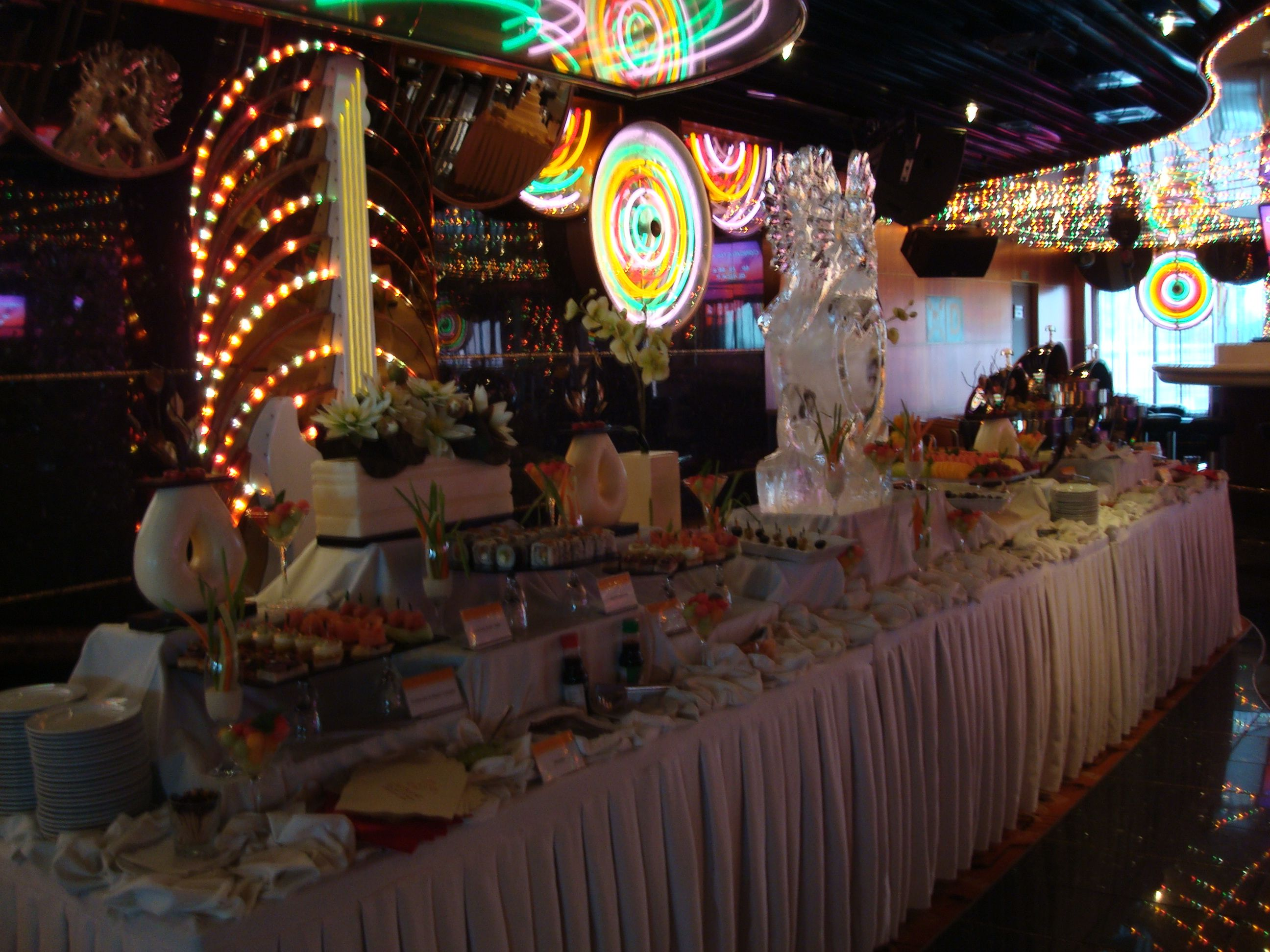 Carnival Cruise Wedding Reception Guess This What Food And Ice Sculpture Set Up Will Look Like Carnival Cruise Wedding Cruise Wedding Cruise Ship Wedding