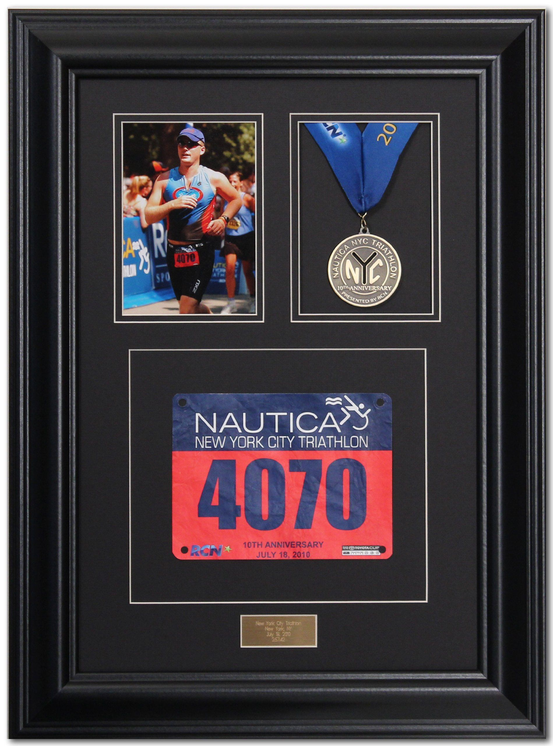 Triumph Marathon and Triathlon Photo, Finishing Medal and Race Bib ...