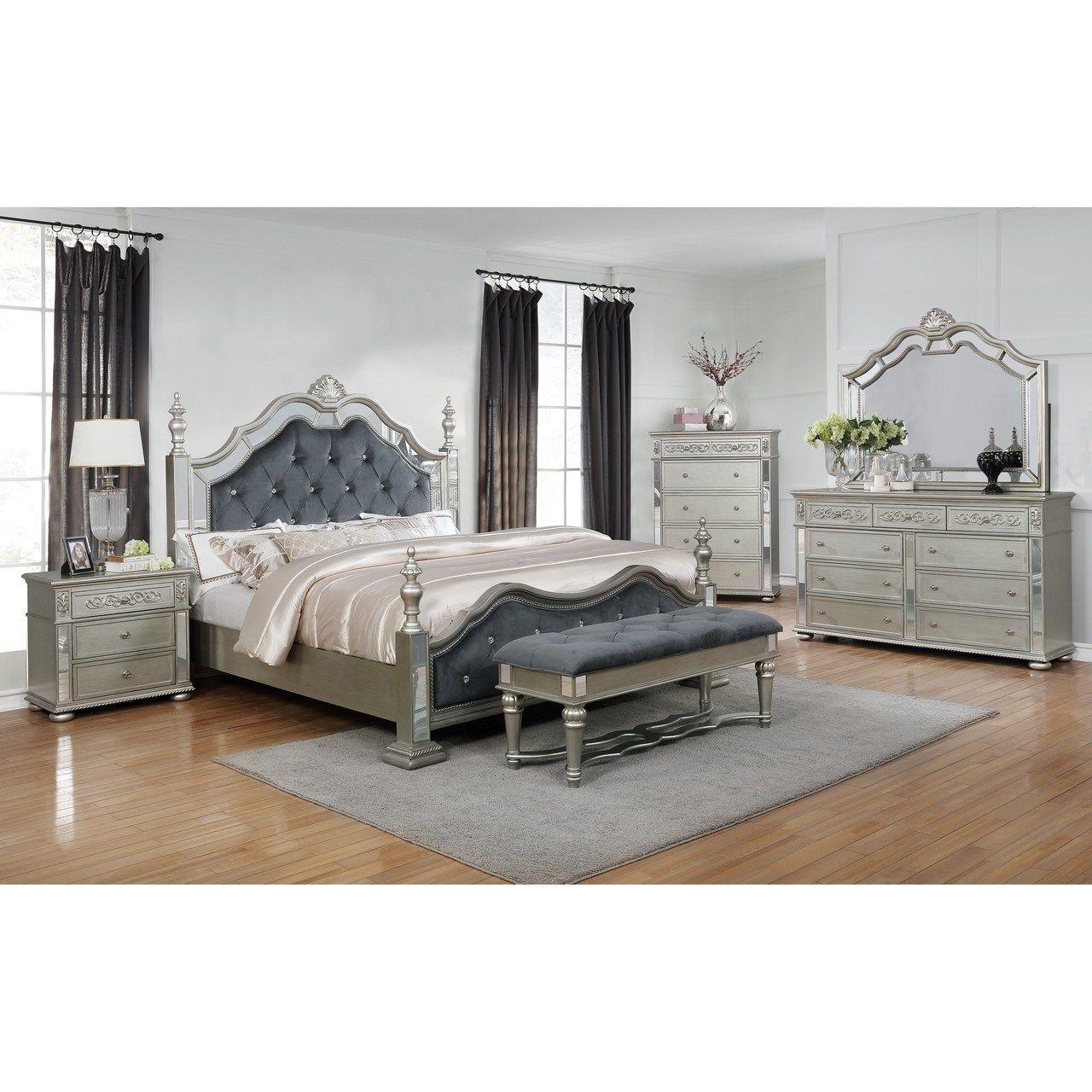 Crown Mark Sterling Collection Bedroom Set Bedroom Set Bedroom