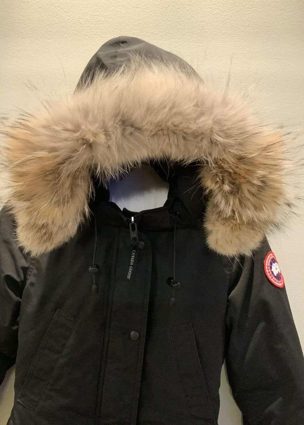 Brand New Canada Goose Black Trillium Parka With Coyote Fur Hood Womens Xs Tp New With Tags Canada Goose Women Womens Parka Canada Goose Parka