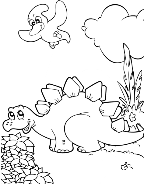 The Really Big Awesome Book Of Dinosaurs Coloring Books Dinosaur Coloring Drawing For Kids