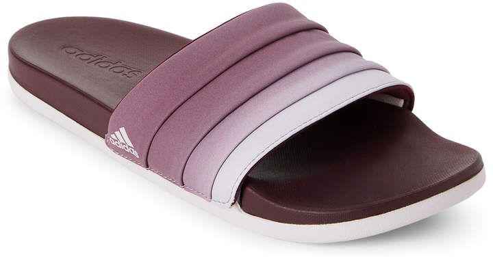 cb522abd2cc6 adidas Maroon   Ice Adilette CF Armad Slides