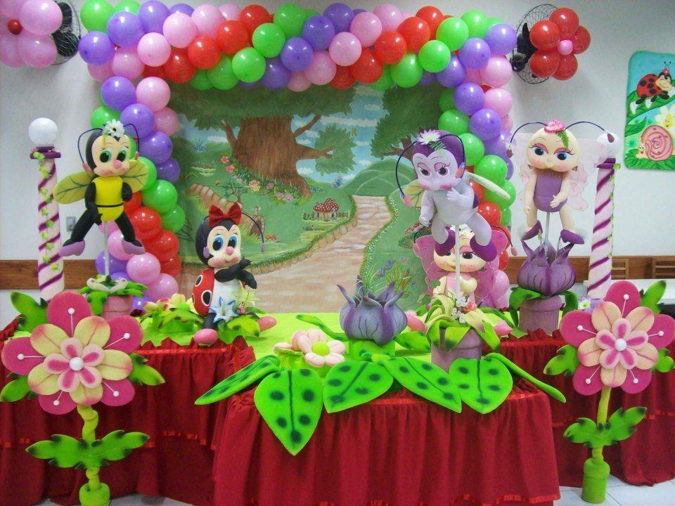 Decoração de festa infantil tema Jardim encantado  Ideas para fiestas, Manua
