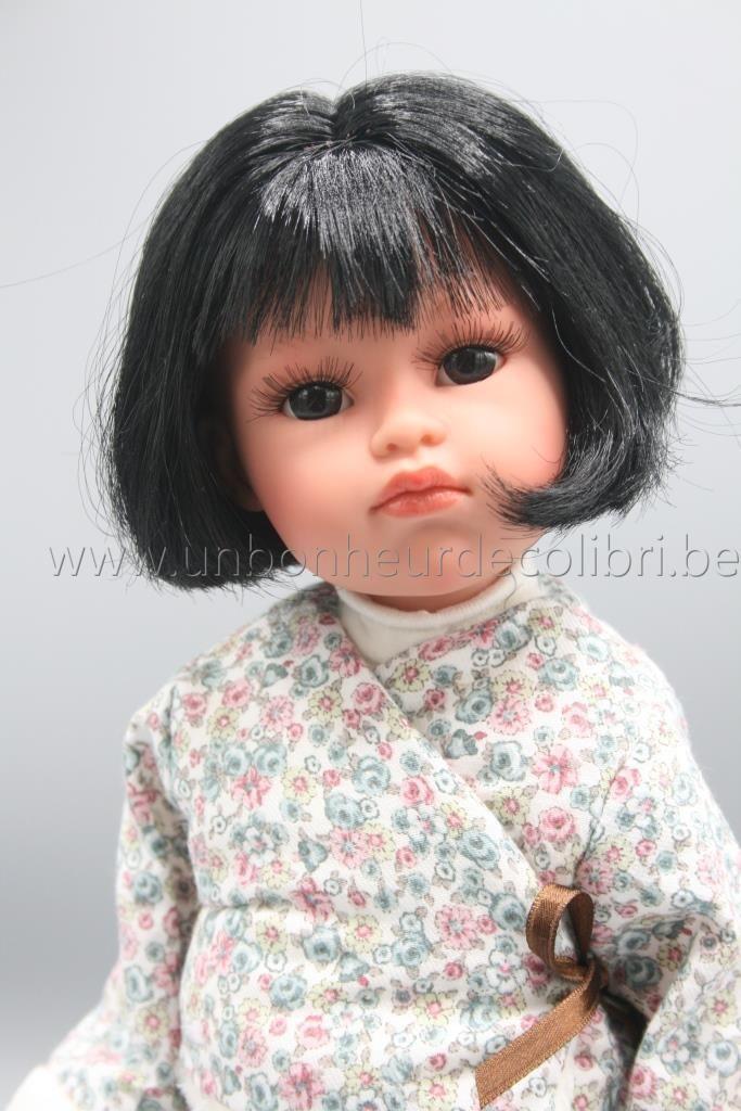 Poupée Olivia Cheveux noirs 37 cm Llorens | Cheveux noirs ...