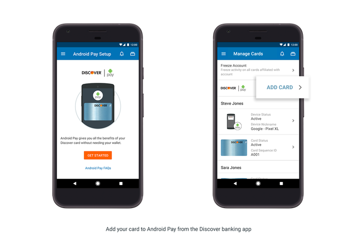 Android Pay Now Works In Bank Of America Usaa Discover Other Mobile Banking Apps Techcrunch Android Pay Mobile Banking Banking App