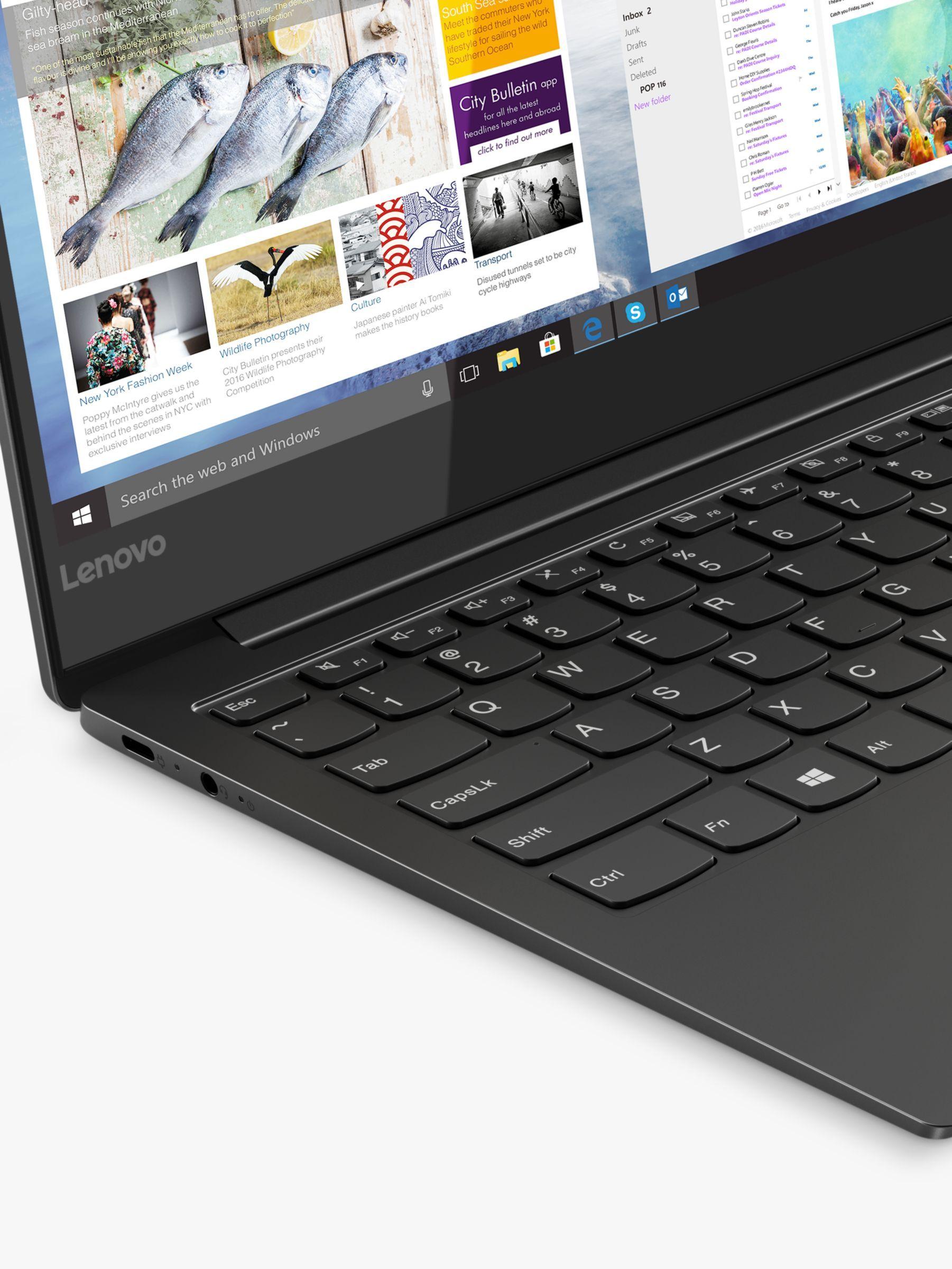 Lenovo Yoga S730 81j0000nuk Laptop Intel Core I5 Processor 8gb Ram 256gb Ssd 13 3 Full Hd Iron Grey Dolby Audio