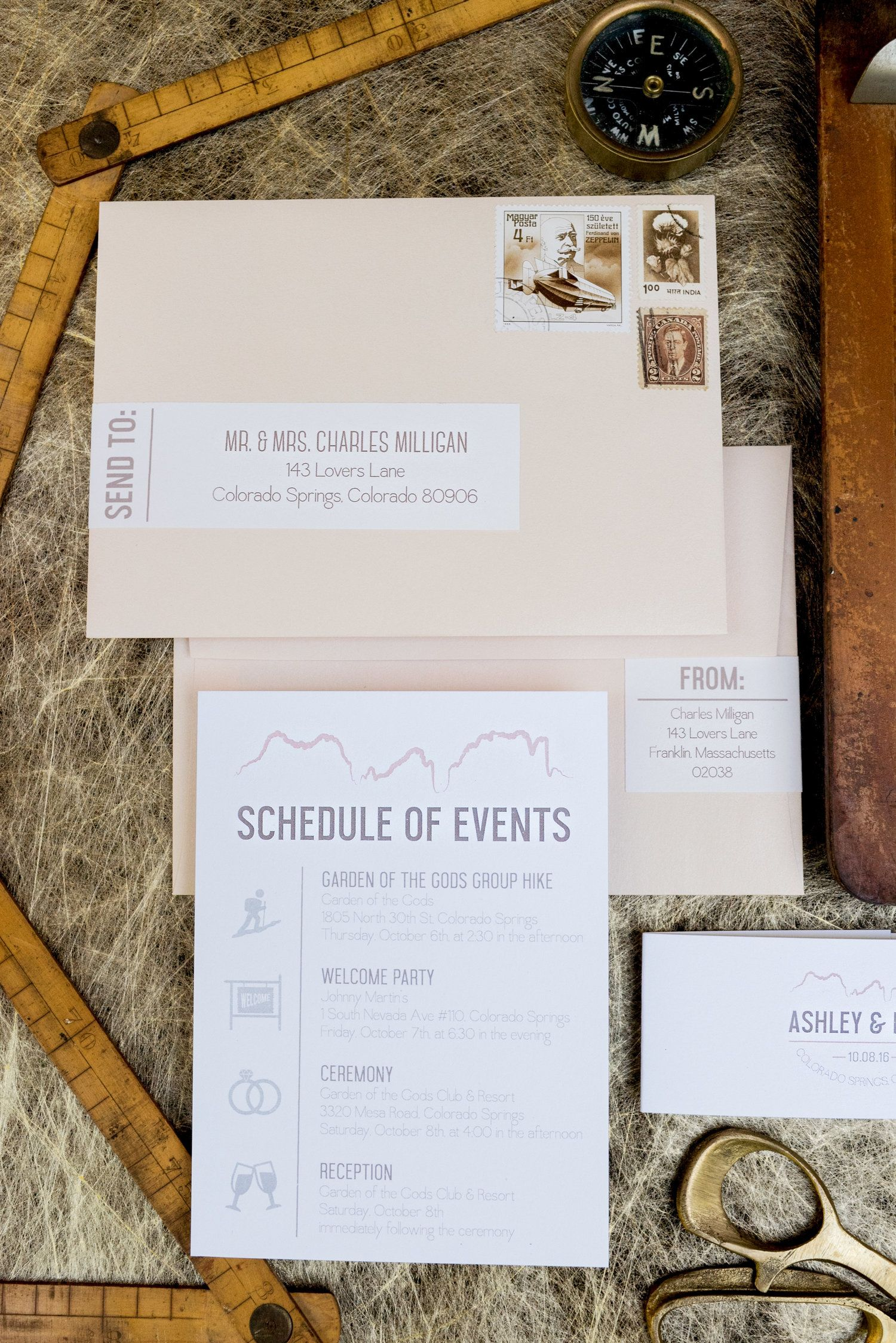 Wedding schedule of events card, custom invites, Wouldn\'t it be ...