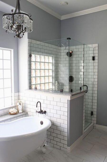 Pin By Brandi Shanea On House Bathroom Remodel Master Small