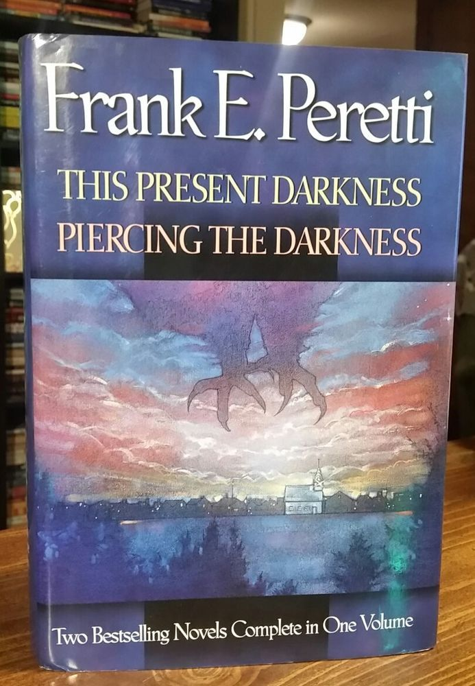 This Present Darkness And Piercing The Darkness Frank E Peretti 2 Books In 1 Hc Christian Fiction Books Christian Books Worth Reading Fiction Books To Read