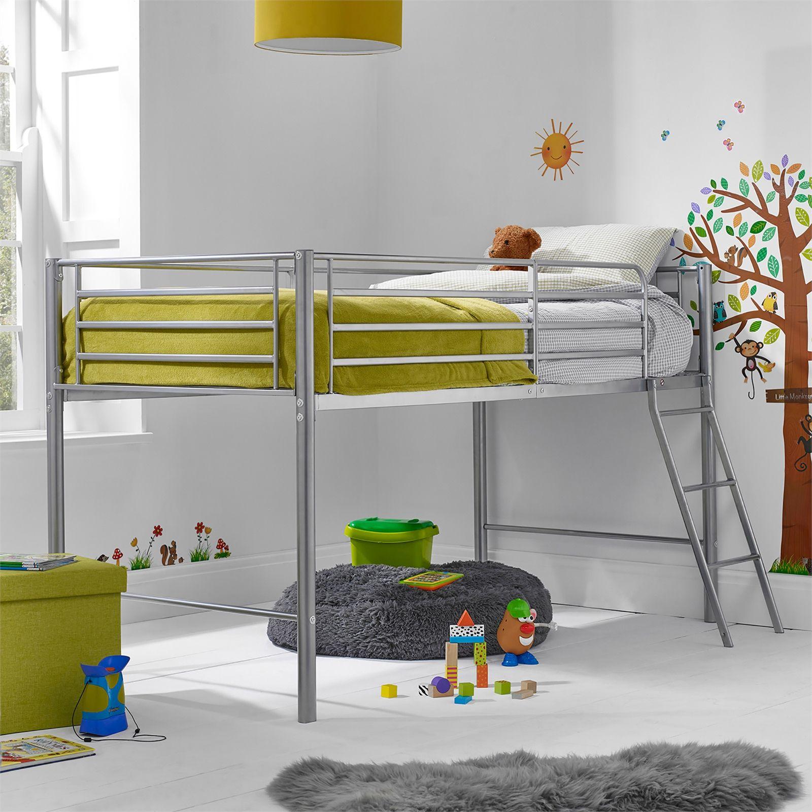 Saturn Mid Sleeper in 10  Kid beds, Kids wooden bed, Mid sleeper