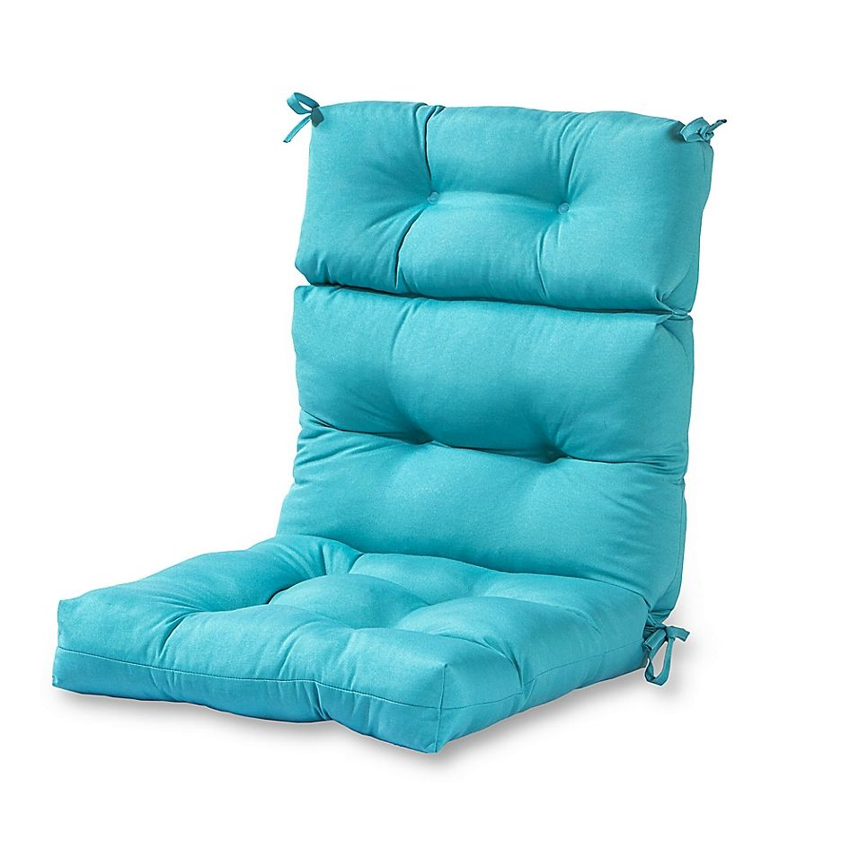 Greendale Home Fashions Outdoor High Back Chair Cushion Bed Bath Beyond In 2021 Patio Furniture Cushions Outdoor Chair Cushions High Back Chairs