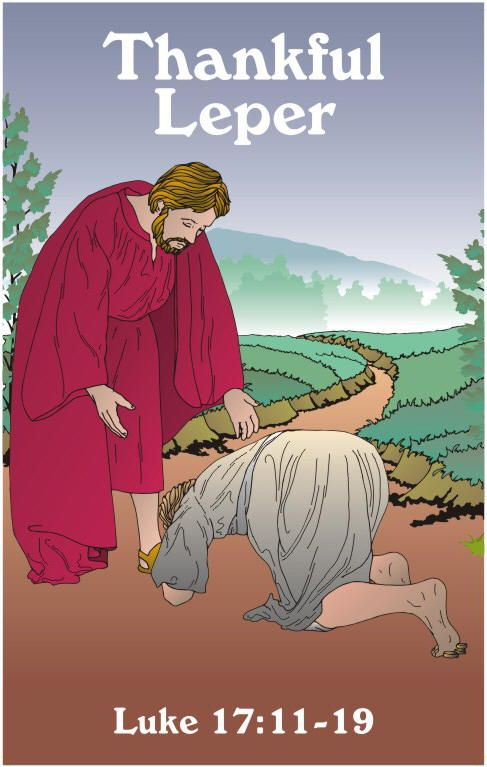 Sunday School Book Cover Page ~ Lesson jesus heals ten lepers bible crafts