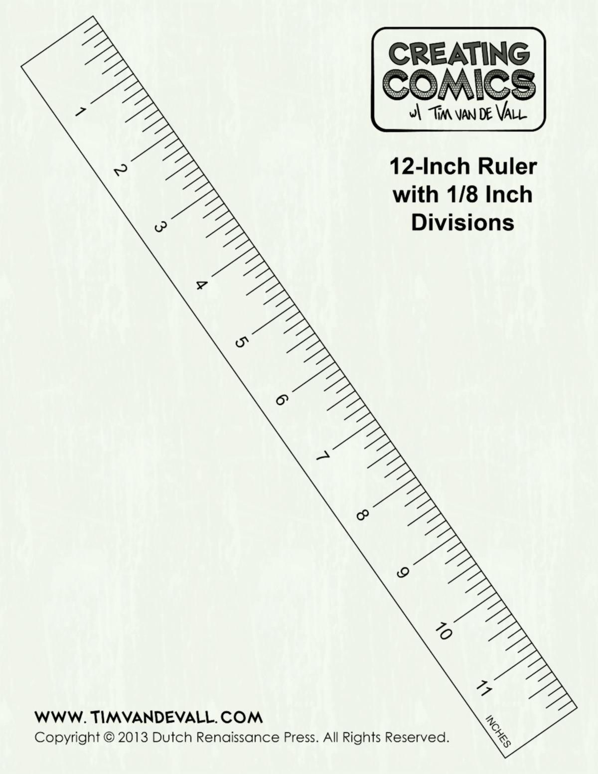 12 Inch Ruler Clipart Black And White