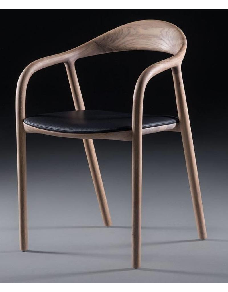 Design Houten Stoelen.Artisan Neva Houten Design Eetkamer Restaurantstoel Met Kussen