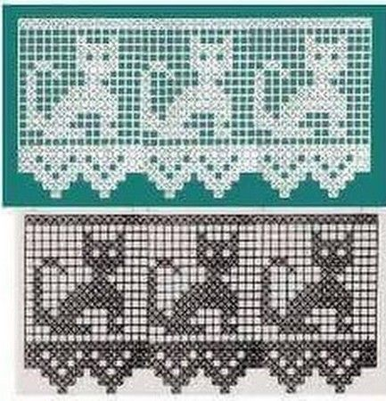 Hermosas cortinas y cenefas hechas en crochet y ganchillo for Cortinas de ganchillo