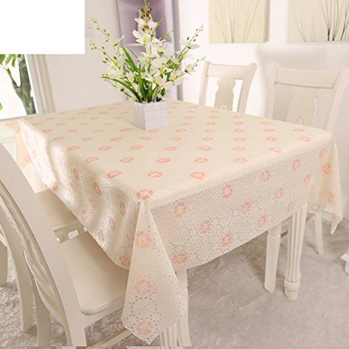 Pvceuropean Style Tablecloths Disposable Plastic Waterproof Sheets