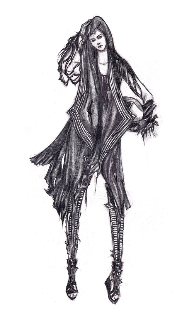 Character 2 - Concept work I did for Skingraft Video can be seen here with my credit: http://vimeo.com/65945629
