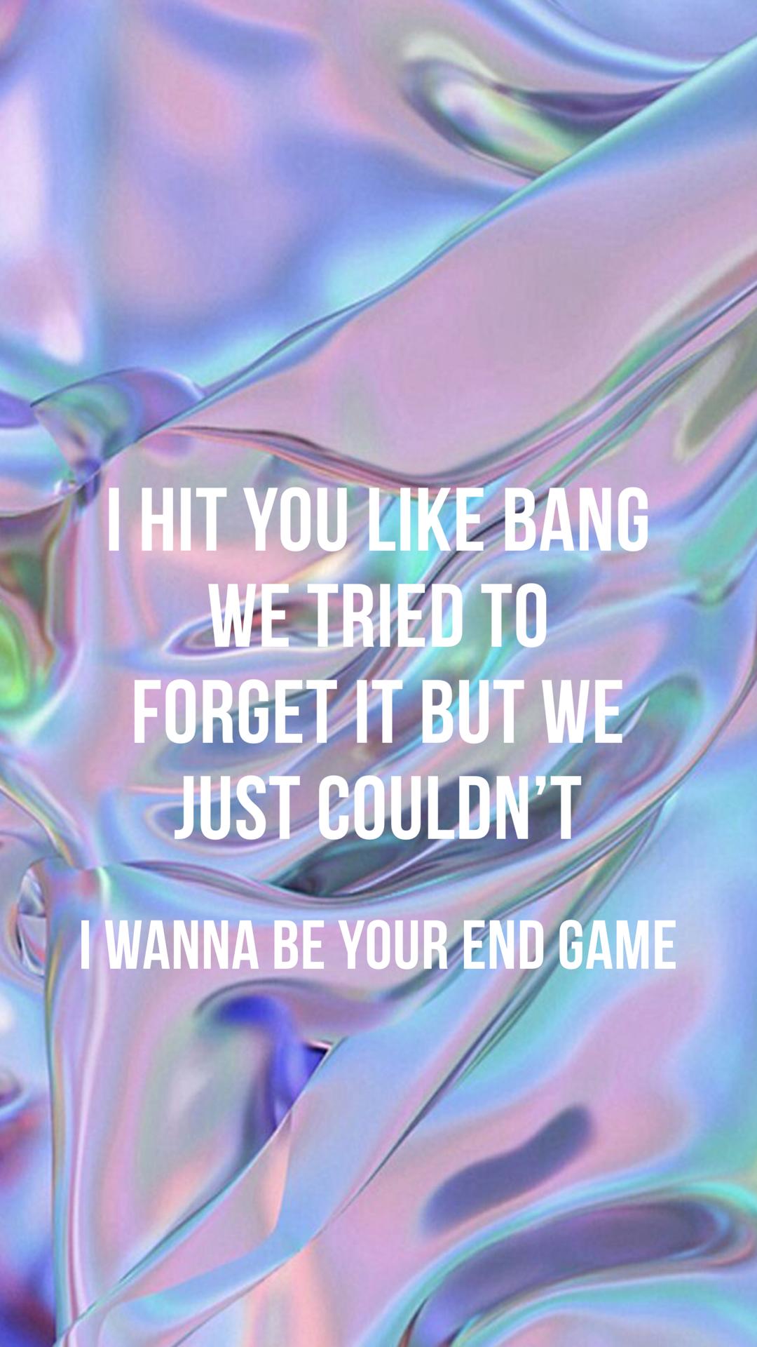 Taylor swift end game lyrics pinterest musicas e msica taylor swift end game stopboris Gallery