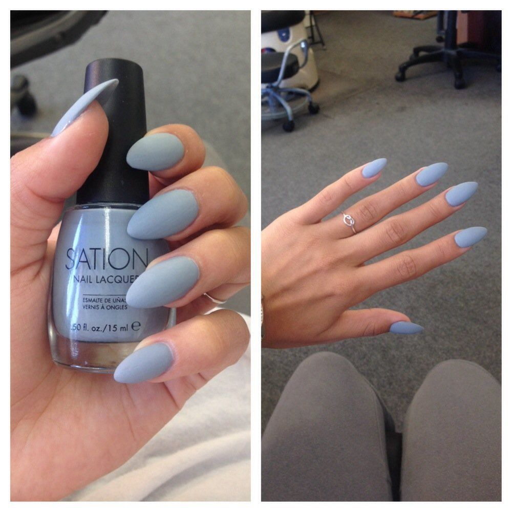 Matte Acrylics Cute Color Pinterest: sashaslays | Notorious Nails ...