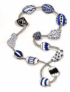 Efie goes Zentangle: beads of courage