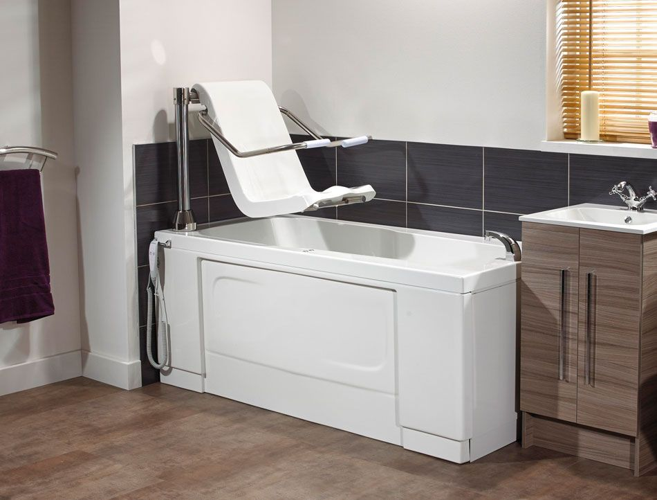 The Momentum bath lift has an innovative Simple Lift powered seat ...