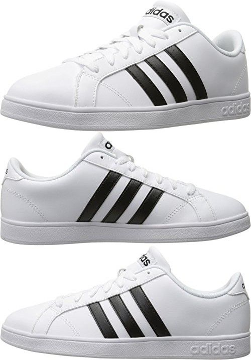 White, 10.5 M US | Adidas sneakers mens