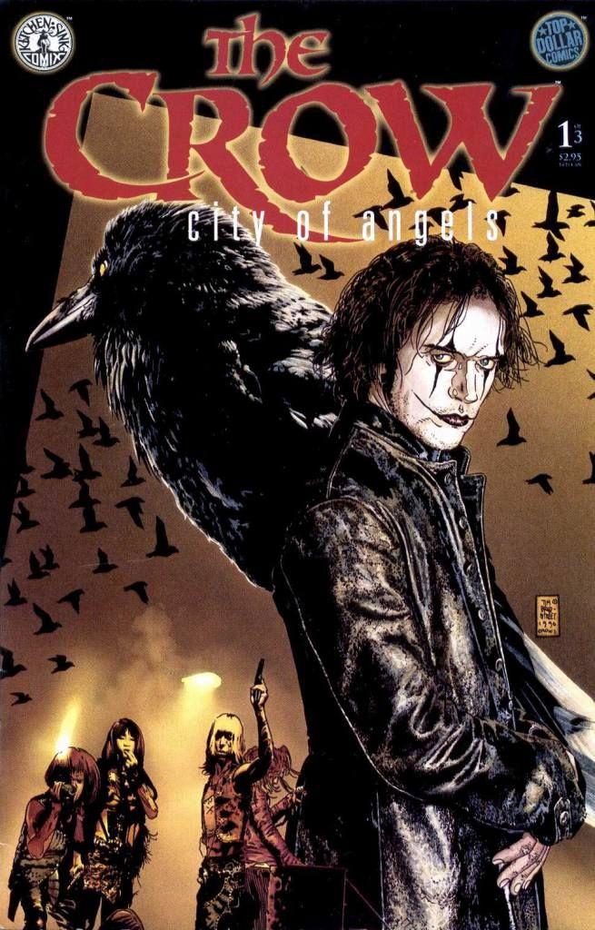 The Crow City Of Angels By James O Barr Artista Marcial Afiche De Pelicula Arte