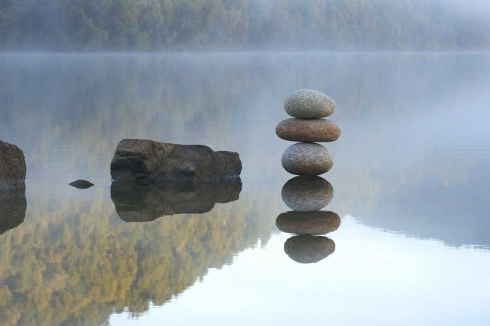 Reflected Rocks - Martin Hill - 2002 - West Coast, New Zealand