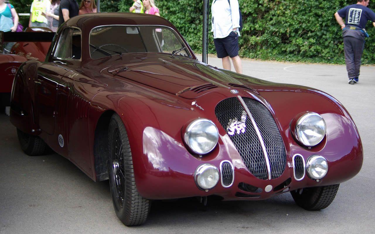 1938 Alfa Romeo 8c 2900b Coupe