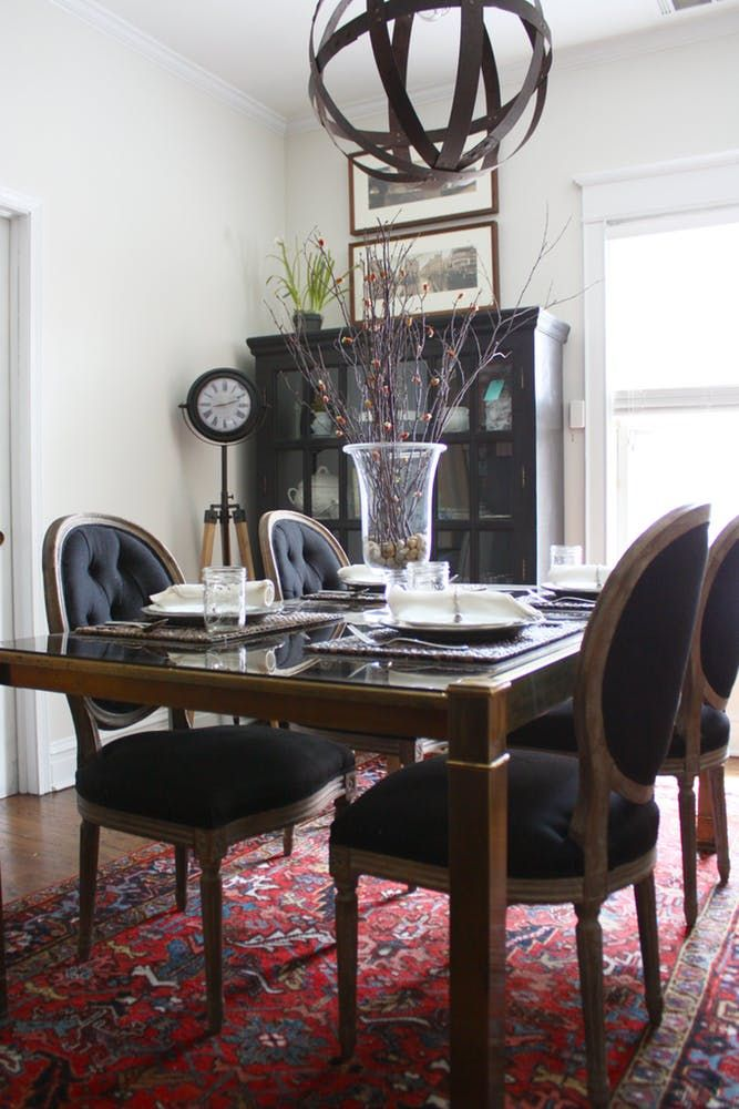 Dining Room Full Of Craigslist Finds And Pieces Refinished By MegMade