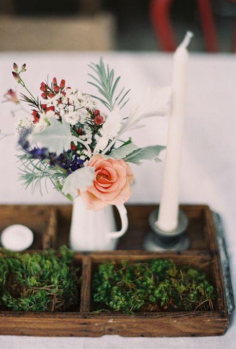 10 Simple Floral Wedding Centerpieces Wedding Invitations Wedding