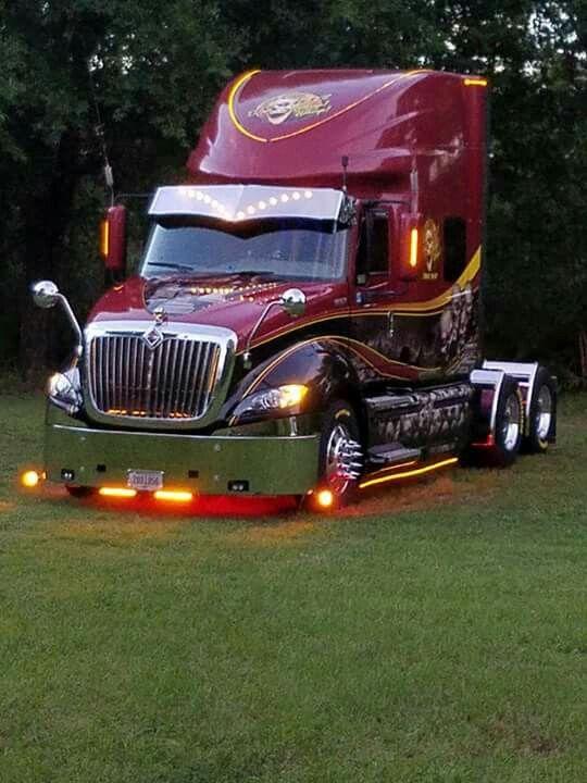 International Prostar   Hot rigs !   Custom trucks, Big