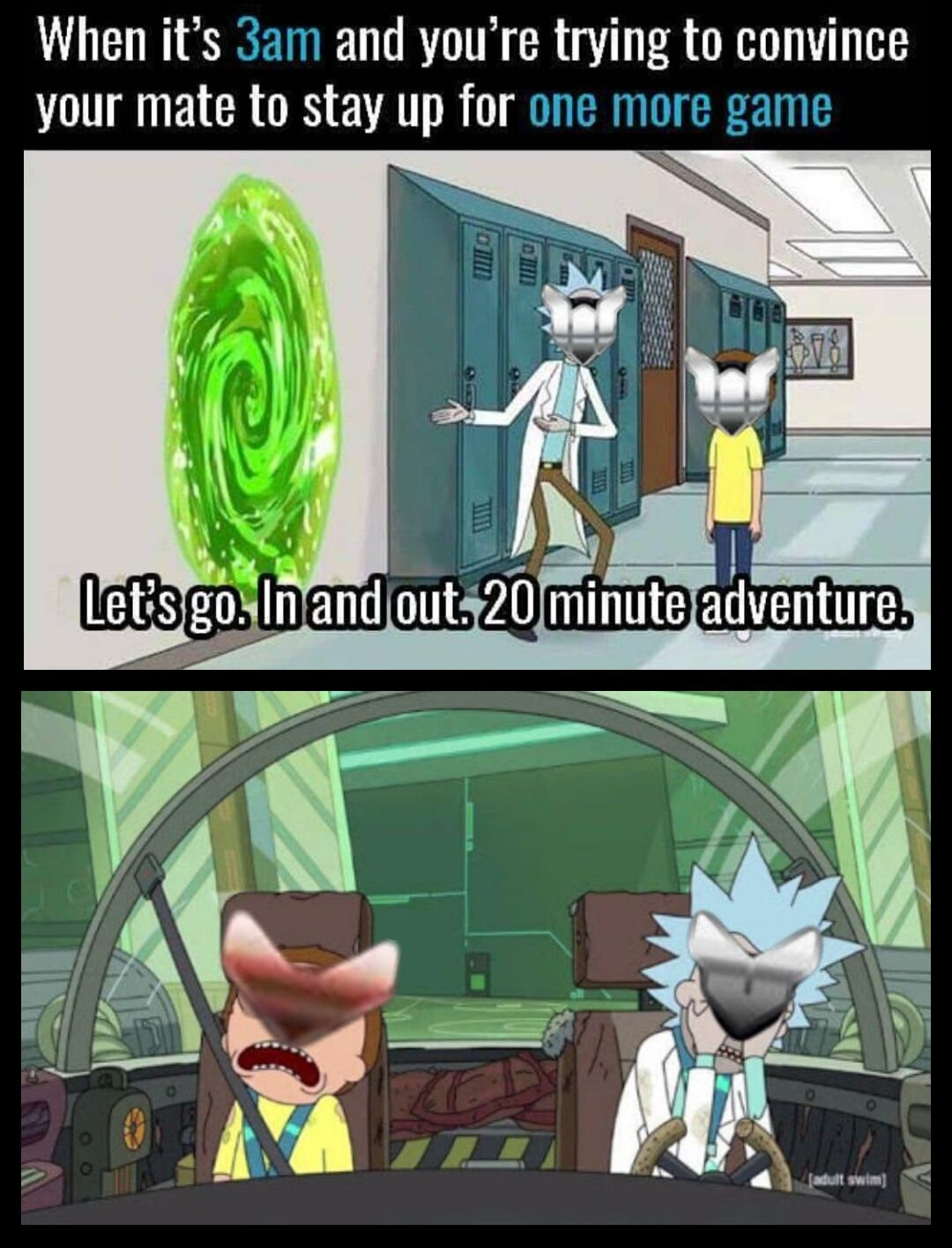 Adult swim dating a gamer memes pictures