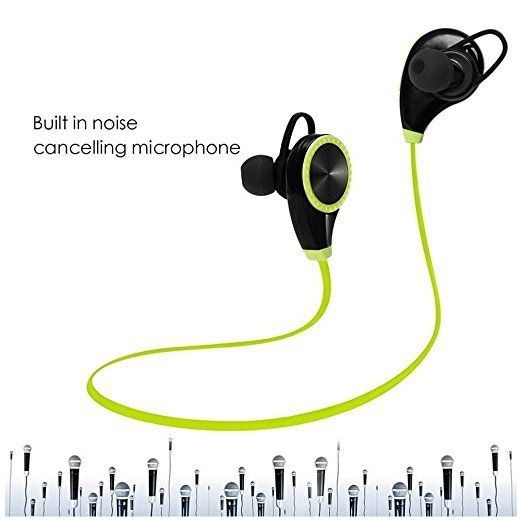 Amazon Com Generic Bluetooth Headset Sports In Ear Earphone Handsfree Wireless Black Cell Phones Bluetooth Headset Cell Phone Accessories Phone Accessories