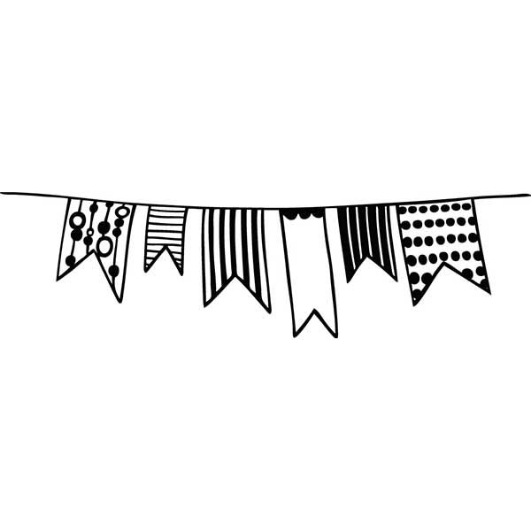 Tampon mariage banderole l 39 art du papier 11e diy - Dessin banderole ...