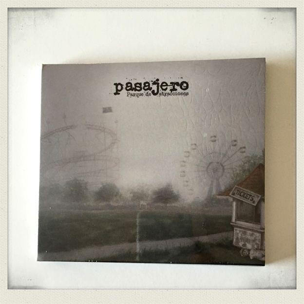 Pasajero - Parque de atracciones (CD) - Ernie records 2015 #ahorasonando #nowplaying